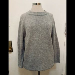 """AYR """" The animal"""" pullover sweater in grey"""